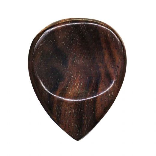 Groove Tones Mini (old design)​​​​​​​ African Ebony 1 Guitar Pick